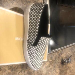 Michael Kors Keaton checkerboard shoes